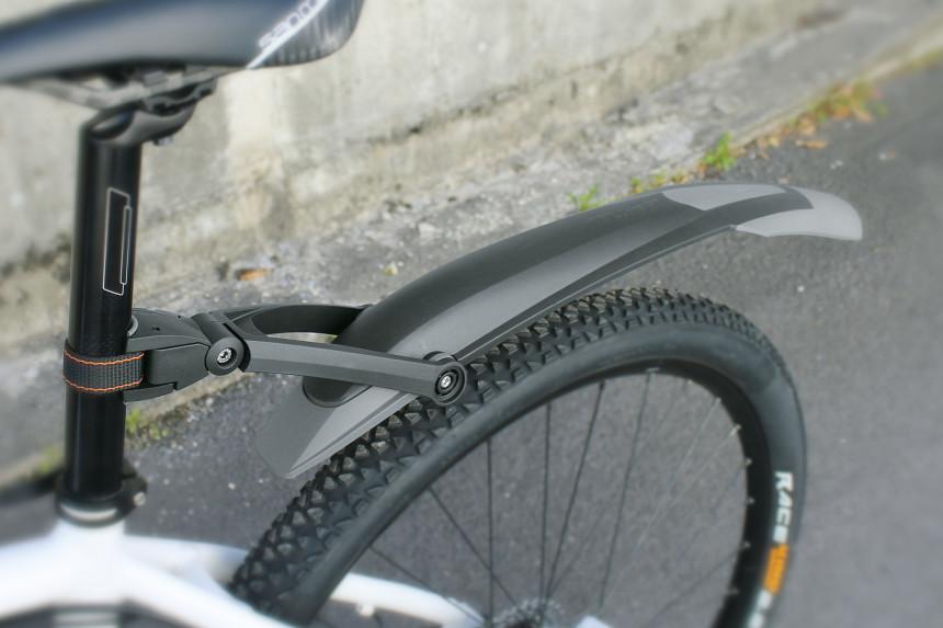 parafango posteriore x-blade dark per ruote 29 double compound nero SKS biciclet