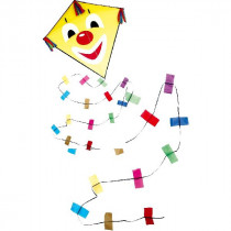 Rhombus Clown Diamond Kite Formato S