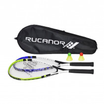 Rucanor Speed Badminton set - Blu / Verde