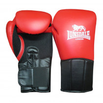 Lonsdale Performer Training Guanto - Rosso / Nero - 12 oz