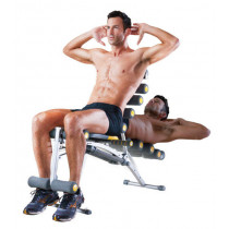 Rock Gym II 6-in-1 dispositivo total body shaping