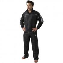 Adidas Team Track Training Jacket - Nero / Bianco