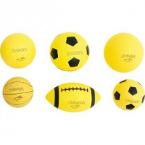 Super -Safe Handball 15 cm - Giallo