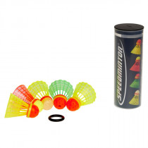 Speedminton Speedertube 5er Mixpack