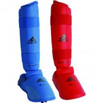 Adidas WKF Shin Instep Protector - Blu